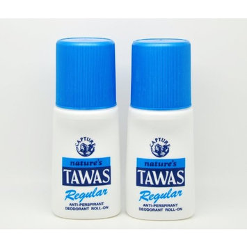 2 Natures Tawas Anti-Perspirant Deodorant Roll-on 2 x 50ml (Regular)