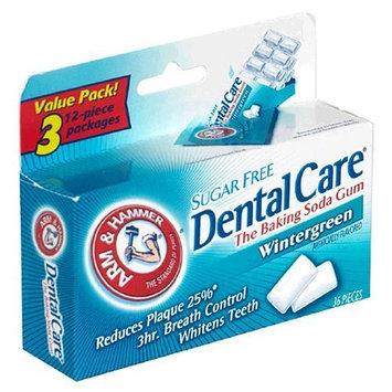ARM & HAMMER™ Dental Care Baking Soda Gum, Sugar Free, Wintergreen
