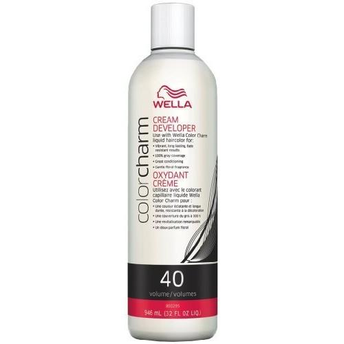 Wella Color Charm 40 Volume Creme Developer 4 oz. [4 oz.] [{