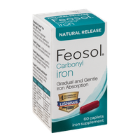 Feosol Carbonyl Iron Natural Release Iron Supplement - 60 CT