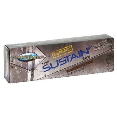 Designer Supplements Designer Nutrition The Sustain Bar, Peanut Butter Fudge, 2.47-Ounce Bars (Pack of 12)
