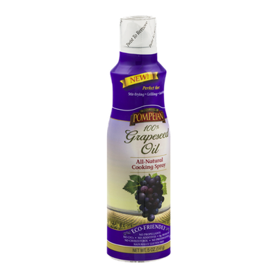 Pompeian Grapeseed Oil All-Natural Cooking Spray