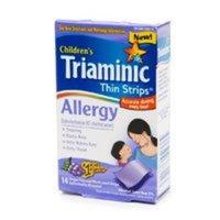 Triaminic Allergy Thin Strips Grape Flavor 14 ea