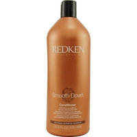 Redken Smooth Down Conditioner, 33.8 ounces Bottle