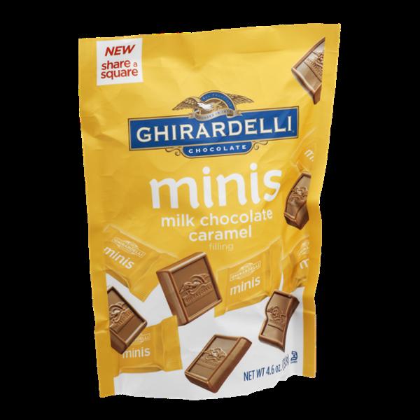 Ghirardelli Chocolate Minis Milk Chocolate Caramel