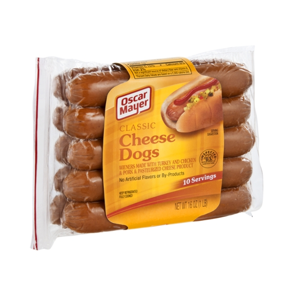 Oscar Mayer Classic Cheese Dogs - 10 CT