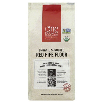 One Degree Organic Foods FLOUR, OG2, SPRTD, RED FIFE, (Pack of 6)