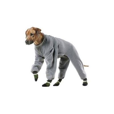 Muttluks 4-Legged Fleece Dog Jogger, Size 10, Grey