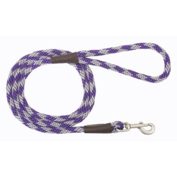 Mendota Products Mendota Snap Dog Leash - Diamond Amethyst - 1/2 in x 6 ft