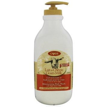 Canus Goat's Milk Natural Marigold Oil Body Wash, 33 Ounce