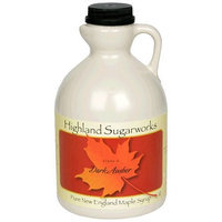 Highland Sugarworks Maple Syrup, Grade A, Dark Amber
