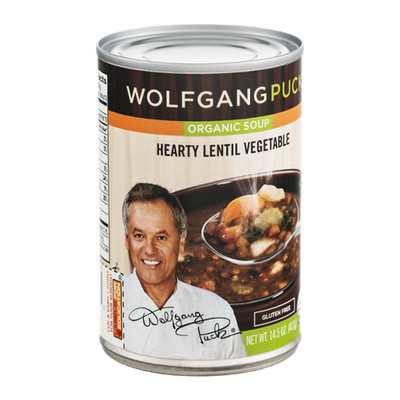 Wolfgang Puck Organgic Soup Hearty Lentil Vegetable