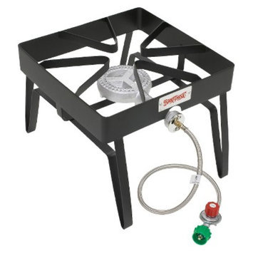 Barbour International Bayou Classic Outdoor Patio Stove - Black