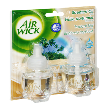 Air Wick Tropical Bliss Scented Oil Refill - 2 CT