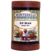 Montebello Kitchens Six Bean, 14-Ounce (Pack of 3)