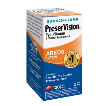 PreserVision Bausch & Lomb  Eye Vitamin and Mineral Soft Gels