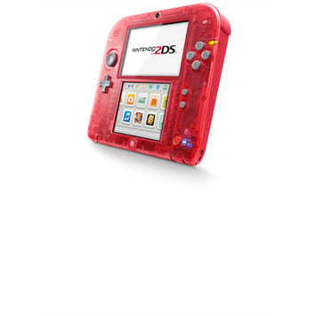 Nintendo 2DS Handheld, Crystal Red