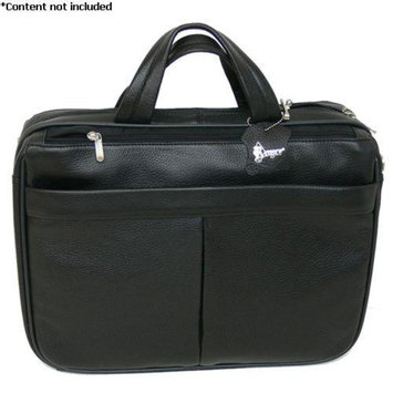 Royce Leather 'Blair' Laptop Briefcase - 643-BLACK-4