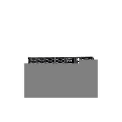 CyberpowerPC CyberPower Smart App Sinewave PR1000LCDRT1U - UPS Rack-mountable / External - 1U, AC 120 V, 800 Watts, 1000VA, 9 Ah, RS-
