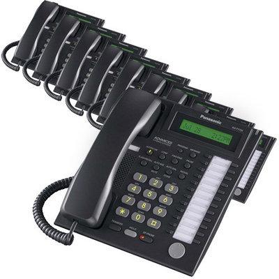 Panasonic BTS KX-T7736B (10 Pack) Speakerphone Telephone With LCD