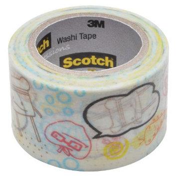 Scotch Washi Tape Gold Stars 10mX30mm