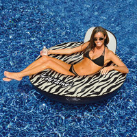 International Leisure Products Inc. Wildthings™ 40-in Zebra Inflatable Pool Float