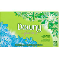 Downy Ultra Infusions Sage Jasmine Sheet Fabric Softener 105 Count
