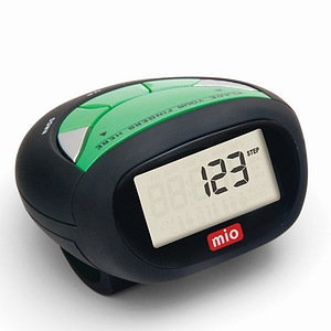 Mio Step 4 Pedometer with Body Fat Analyzer and Flashlight