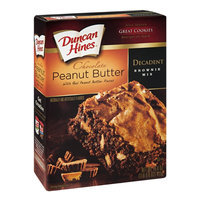 Duncan Hines Decadent Brownie Mix Chocolate Peanut Butter