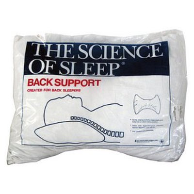 Science of Sleep Back Sleeper Pillow