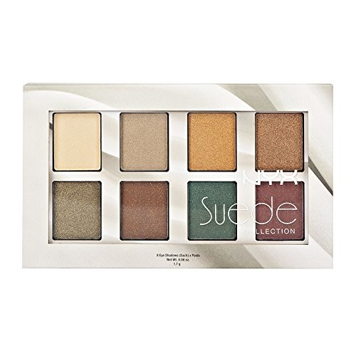 NYX 2014 New - The Suede Shadow Palette