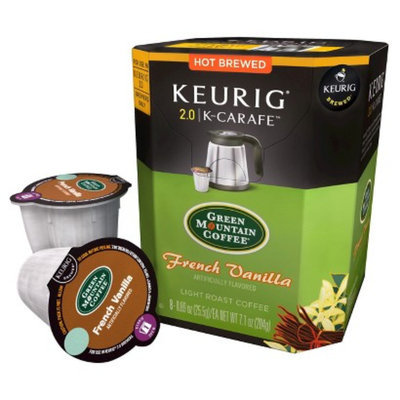 Keurig Green Mountain Coffee French Vanilla Light Roast Coffee K-
