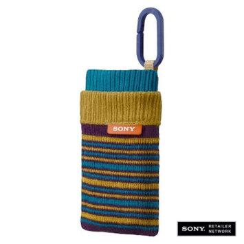 Sony Sock Style Camera Case - Blue (LCSCSZ/L)