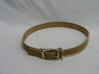 Beiler S Manufacturing Beiler S & Supply Calf Collar Tan 1x 30 Inch - 30