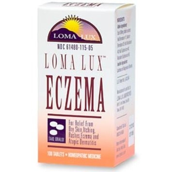 Loma Lux Homeopathic Eczema Tablets