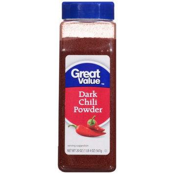 Wal-mart Stores, Inc. Great Value Dark Chili Powder Seasoning, 20 oz