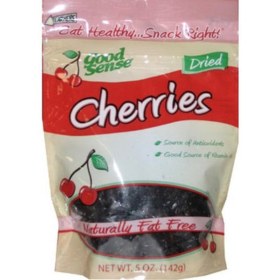 Good Sense Cherries, 5 Ounce Bags (Pack of 6)