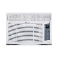 Haier America Trading Llc Energy Star 12,000 BTU 115V Window-Mounted Air Conditioner with MagnaClik Remote with Braille