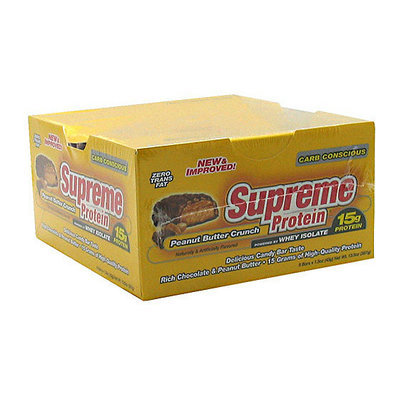 Supreme Protein Peanut Butter Crunch Protein Bars