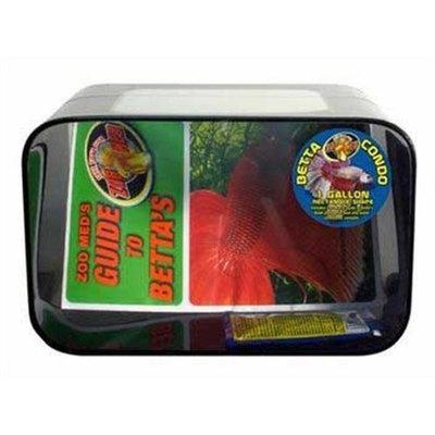 Zoo Med Betta Condo 1 Gallon Rectanular Black