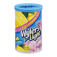 Wyler's Light Sugar Free Low Calorie Soft Drink Pink Lemonade