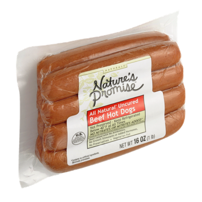 Nature's Promise All Natural Uncured Beef Hot Dogs
