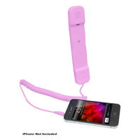 Pyle PITP8 Handset for iPhone/iPad/iPod/Android Phones, Pink
