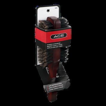 Ace 2-Sided Club Brush