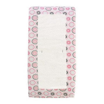 Dwell Studio Dwellstudio Changing Pad Cover, Zinnia Rose (Discontinued by Manufacturer)