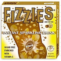 Fizzies Root Beer Instant Sparkling Drink Tablets, 12 tablets per box (6 pack)