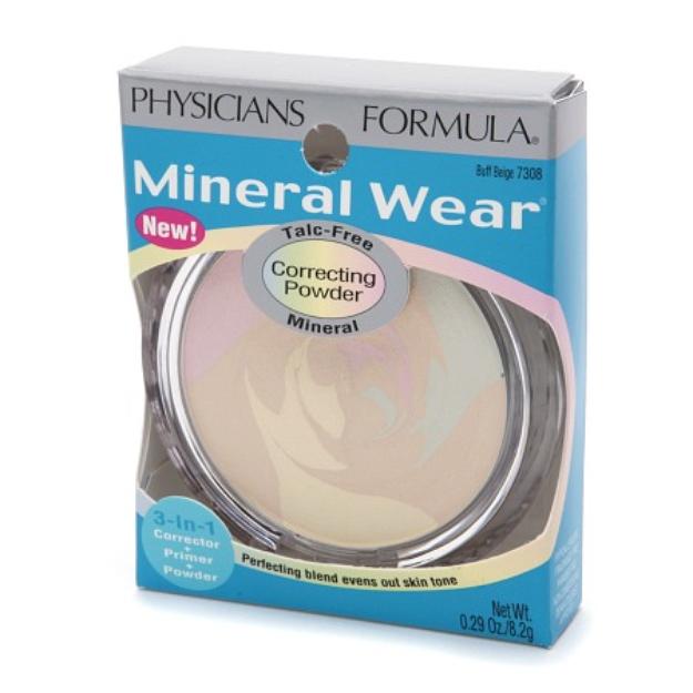 Physicians Formula Mineral 3-in-1 Corrector + Primer + Powder