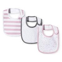 Newborn Girls' 3 Pack Bib Set - Strawberry Pink by Circo
