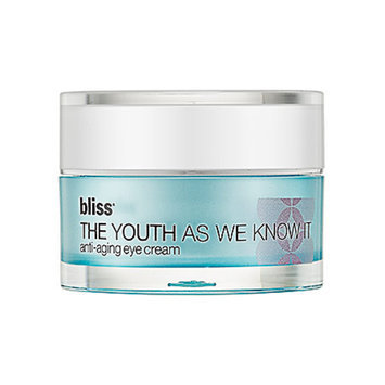Bliss The Youth As We Know It anti aging eye cream