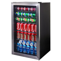 Newair AB-1200 126-Can Stainless Steel Beverage Cooler NAIAB1200